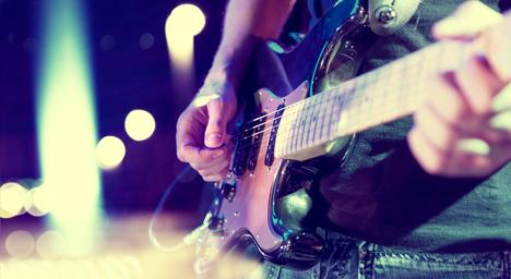 Tests de cordes de guitare électrique sur Youtube