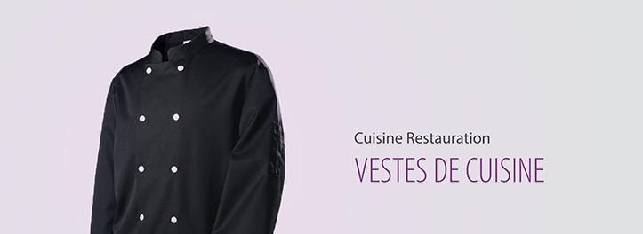 Une veste de cuisine pas cher pour répondre à vos besoins